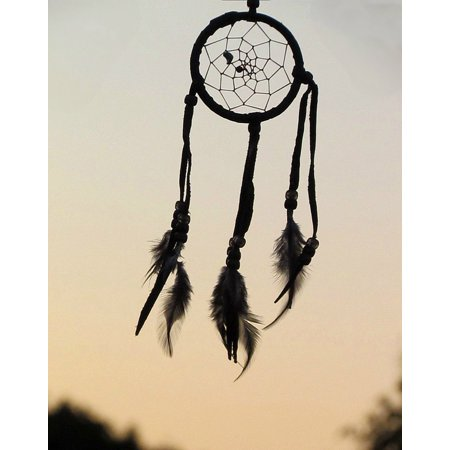 LAMINATED POSTER Native Dreamcatcher American Feathers Nature Poster Print 24 x 36