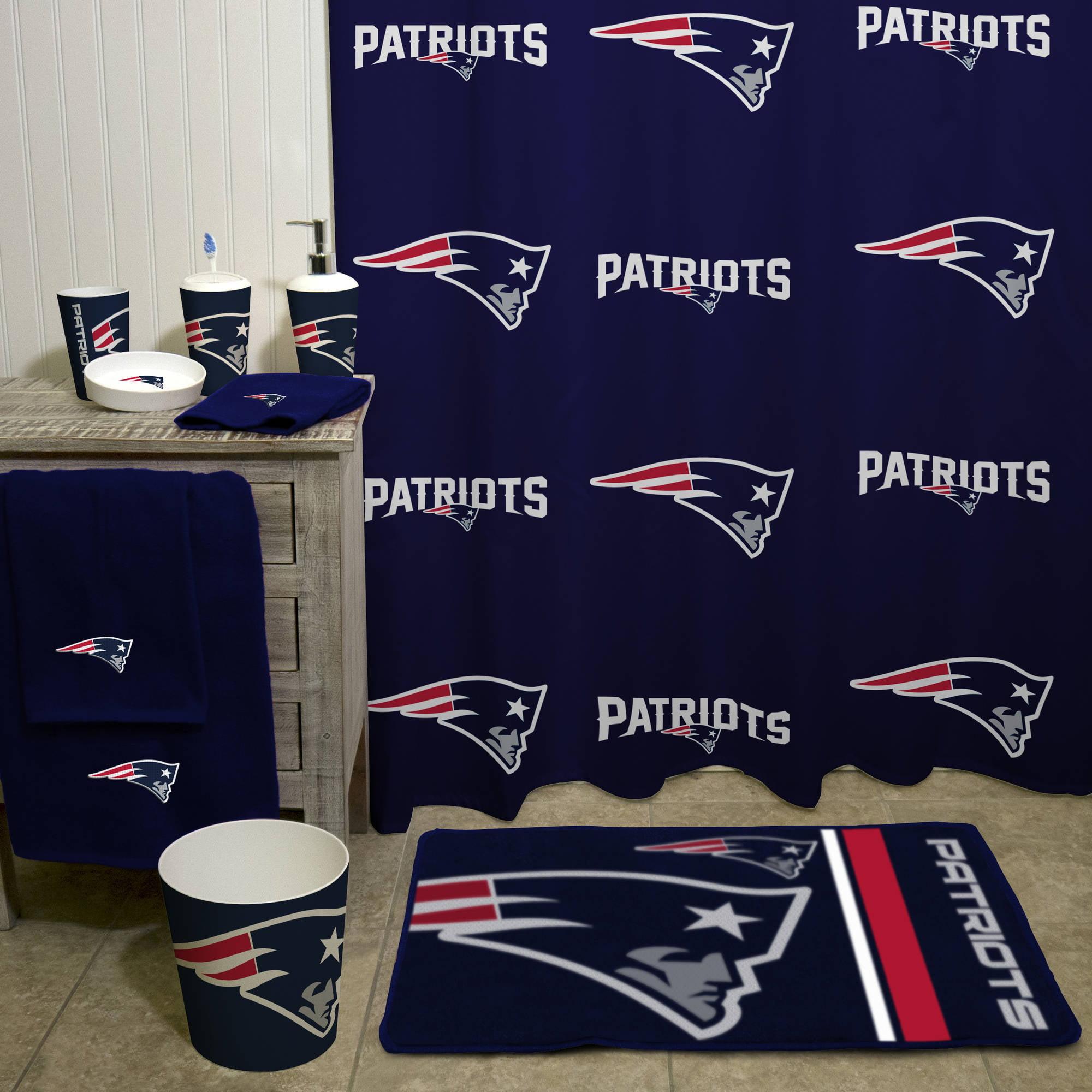 NFL New England Patriots Bath Towel, 12 Each