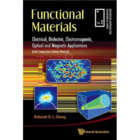 Functional Materials: Electrical, Dielectric, Electromagnetic, Optical and Magnetic (General Optical)