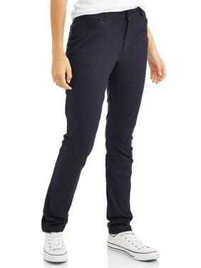 Real School Juniors' 5-Pocket Stretch Skinny School Uniform Pant