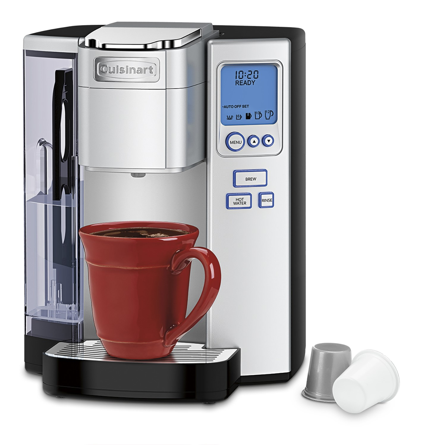 Cuisinart SS700 Single Serve Brewing System Silver Powered by