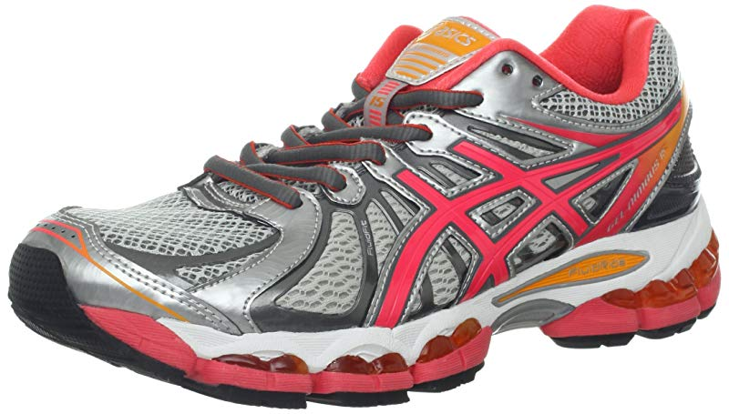 ASICS ASICS Women's GEL Nimbus 15 Running Shoe, LightningPunchMarigold, 11.5 B US