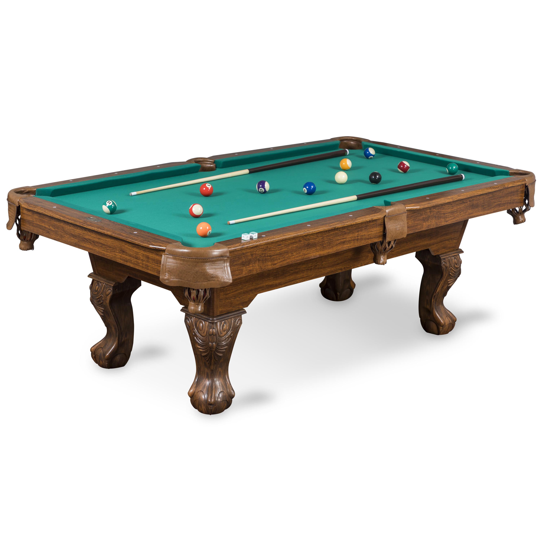 EastPoint Sports Classic 87-inch Brighton Billiard Pool Table, Green Cloth