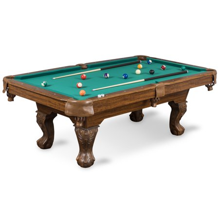 EastPoint Sports Classic 87-inch Brighton Billiard Pool Table, Green Cloth (Logo Billiard Pool)
