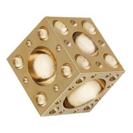 BRASS DOMING BLOCK, Jeweler's tool for creating domed, rounded, spherical designs for necklaces, earrings, decor pieces By Bench Wizard 5 Piece Wizard