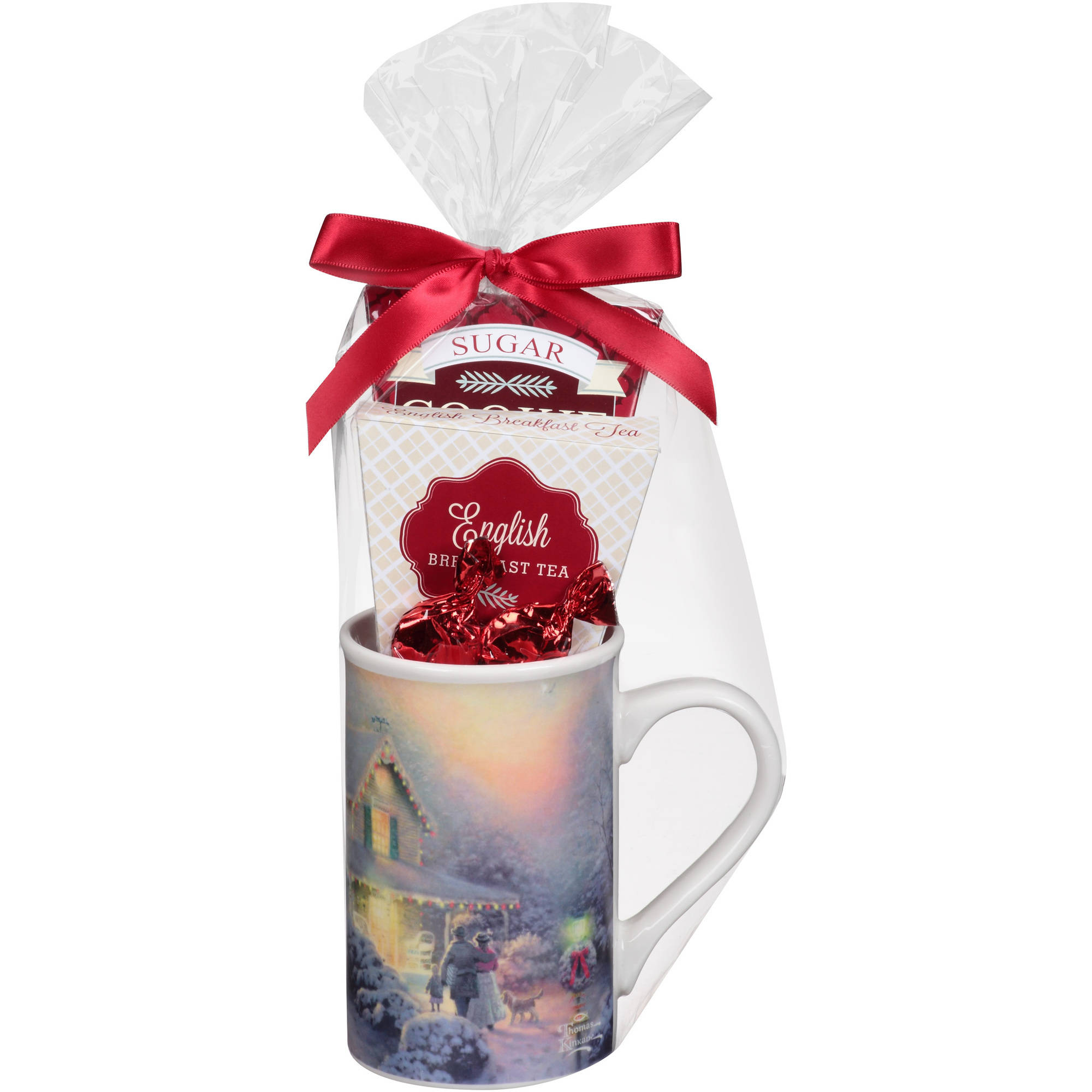 Thomas Kinkade Tea Mug Holiday Gift Set, 4 pc