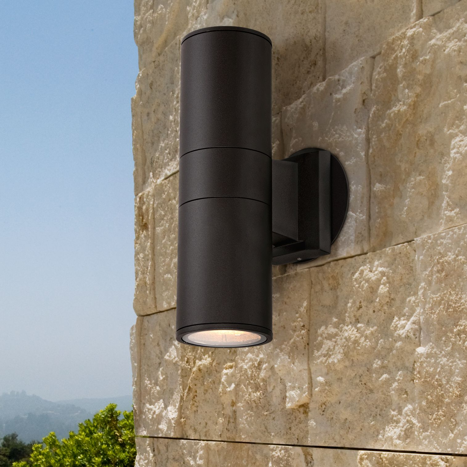 Possini Euro Design Modern Outdoor Wall