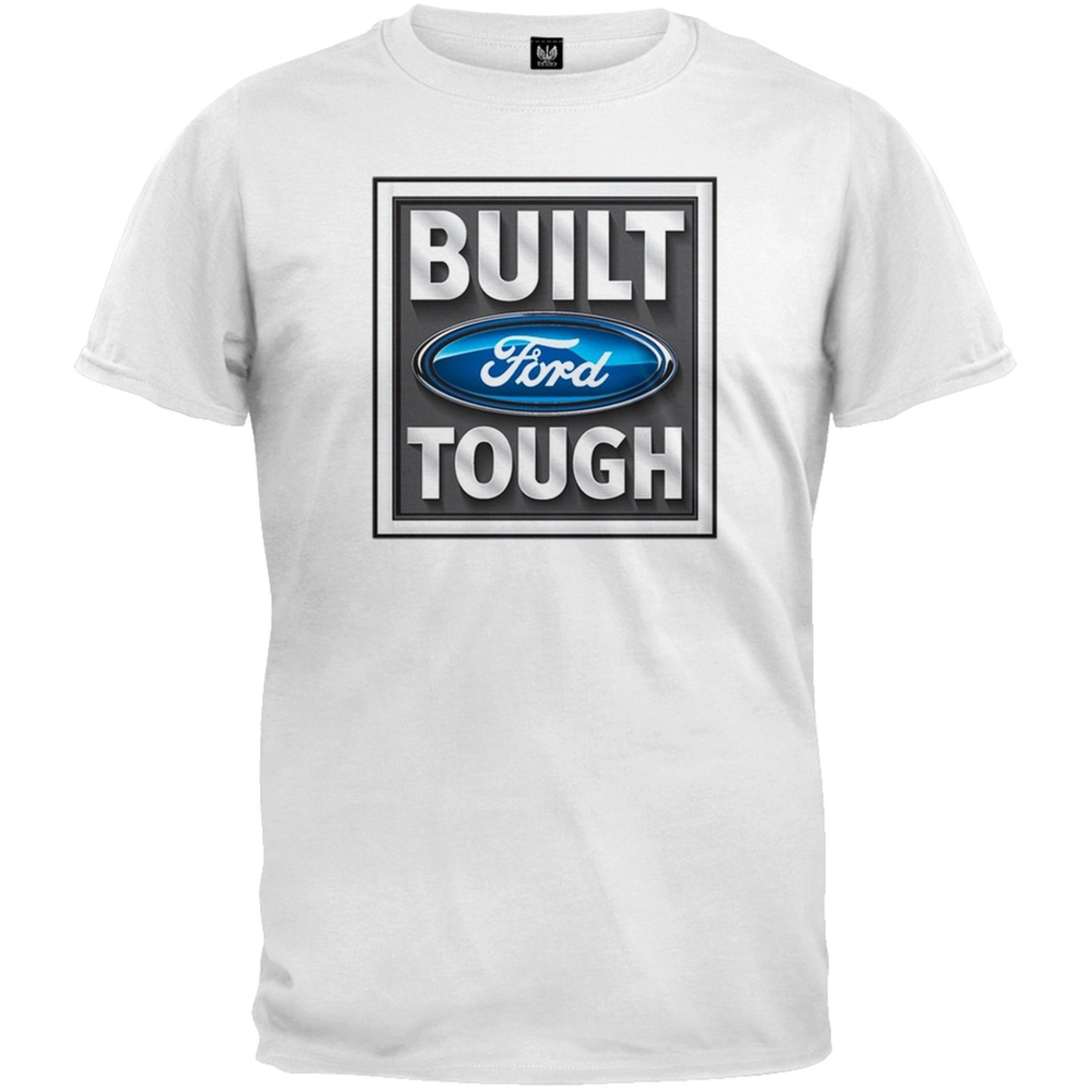Ford - Built Tough White T-Shirt