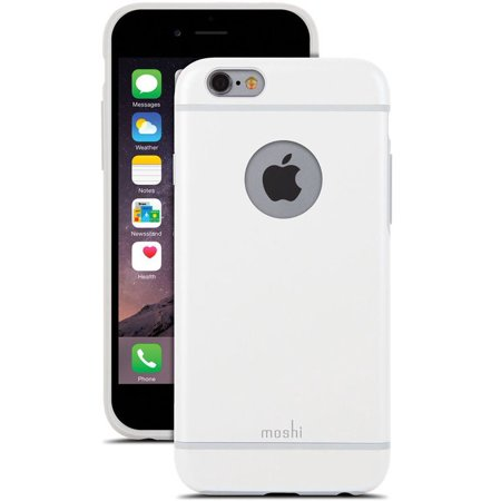 cheaper cff7f b61d7 Moshi iGlaze Ultra Slim Protective Case Cover for iPhone 6s 6 Case - White