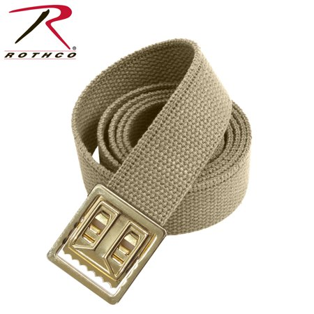 Rothco Military Web Belts w  Open Face Buckle Khaki 81da8f1dd35