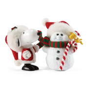 Dept 56 Peanuts Possible Dreams Snoopy Final Touches Snowman by Department 56