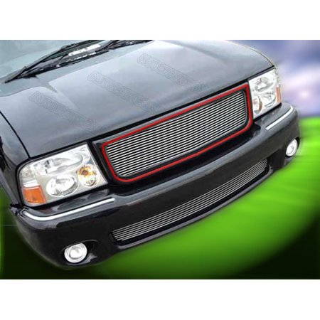 Premium Billet Grille (Fedar Main Upper Billet Grille For 1998-2003 GMC Jimmy/Sonoma/S-15 Pickup )