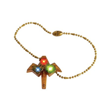 Child's Wonder Woman Justice League Light Up Necklace Costume Accessory - Child's Wonder Woman Costume