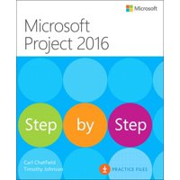 Step by Step: Microsoft Project 2016 Step by Step (Paperback)