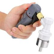 Pressurizer-Handhold Pressurizer CO2 Keg Charger Kit with Carbonation Cap for Beer Brewing Soda Drink