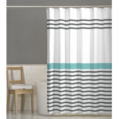 Maytex Simple Stripe Shower Curtain