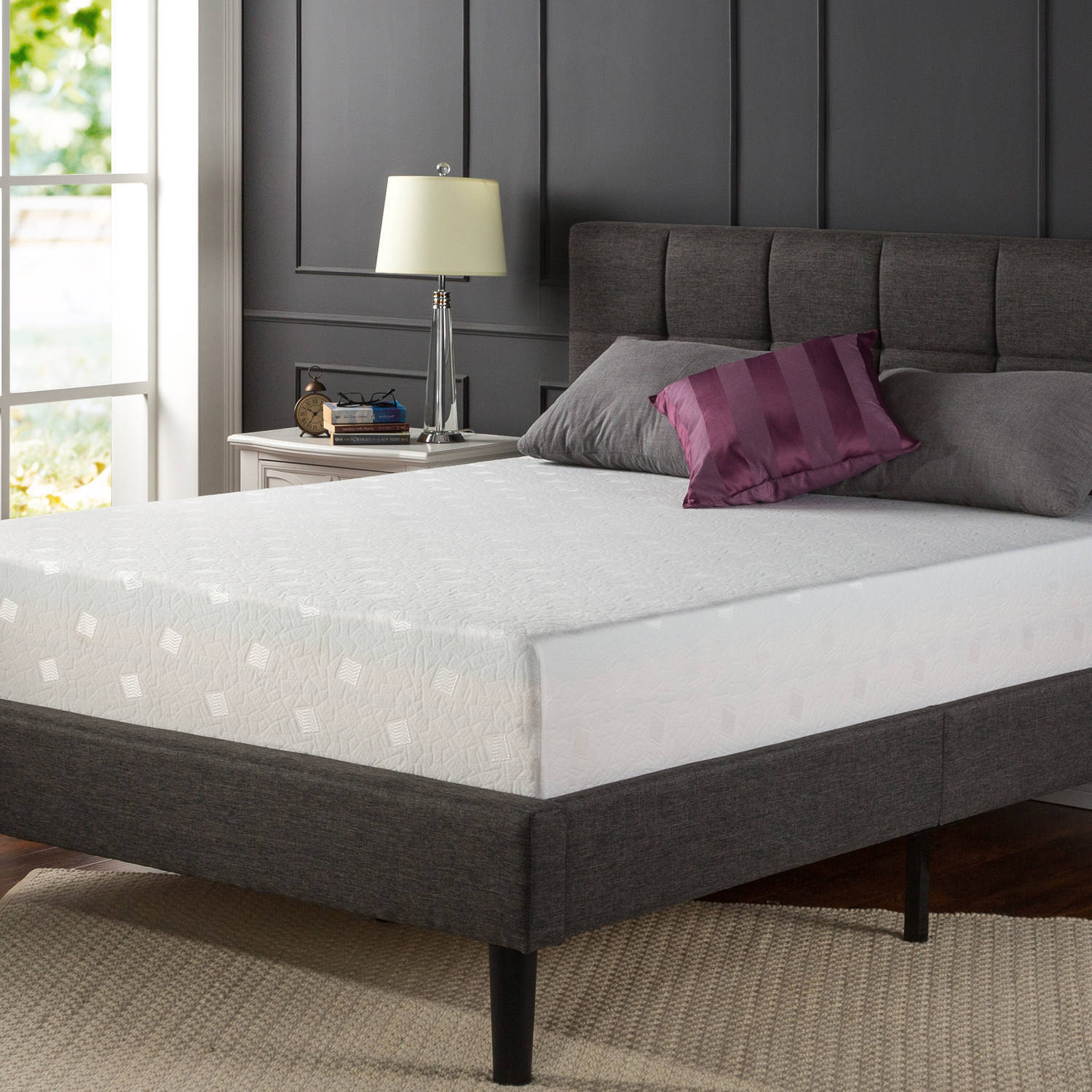 "Spa Sensations 12"" Memory Foam Comfort Mattress"