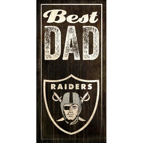 Fan Creations NFL Best Dad Graphic Art Plaque