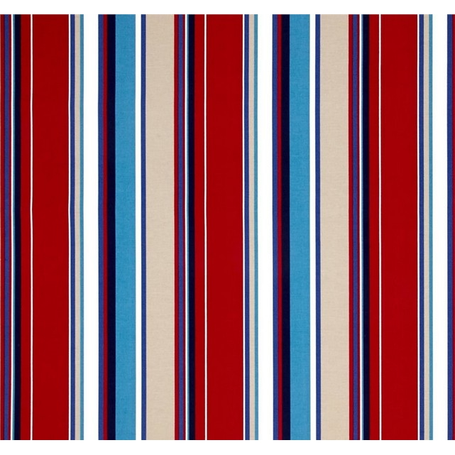 Jordan Manufacturing Outdoor Fabric By The Yard, Covert Stripe Sailor