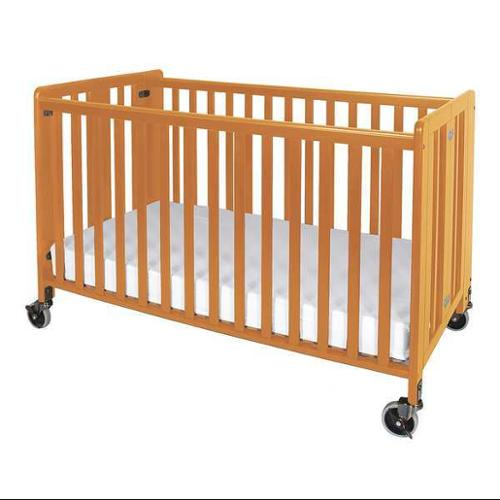Foundations 1011042 Hideaway Crib, Natural, 3 In. Mattress