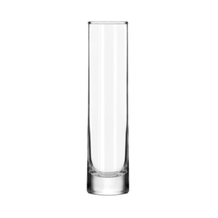 Crisa by libbey glass cylinder bud vase 7 5 for Jardin glass vases 7 in