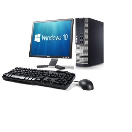 Dell OptiPlex 790 Intel i5 Core Windows 10 4GB WiFi PC Desktop W/ 19