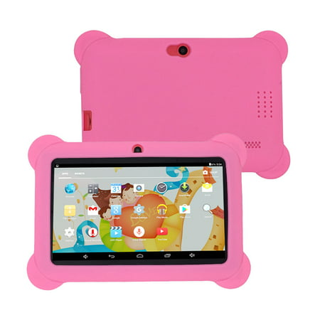 """Kids Safe 7"""" Quad-Core Tablet 512M+8GB WIFI MID Dual Cameras Kid-Proof Case with US Plug (Pink) - image 3 of 5"""