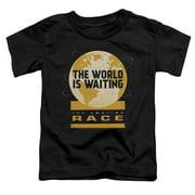 The Amazing Race Waiting World Little Boys Shirt