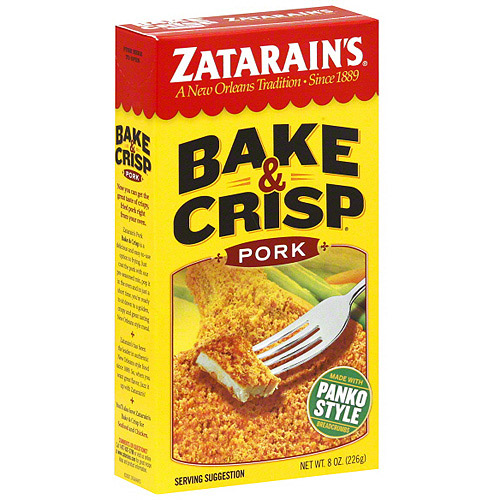 Zatarain's Pork Bake & Crisp, 8 oz (Pack of 12)