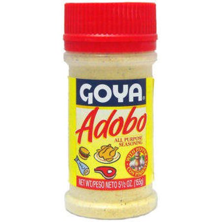 Goya Seasoning (Adobo Goya With Pepper 5.5Oz)