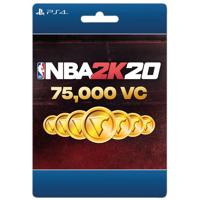 NBA 2K20 75,000 VC, 2K Games, Playstation [Digital Download]