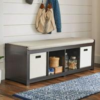 Better Homes and Gardens 4-Cube Organizer Storage Bench Deals