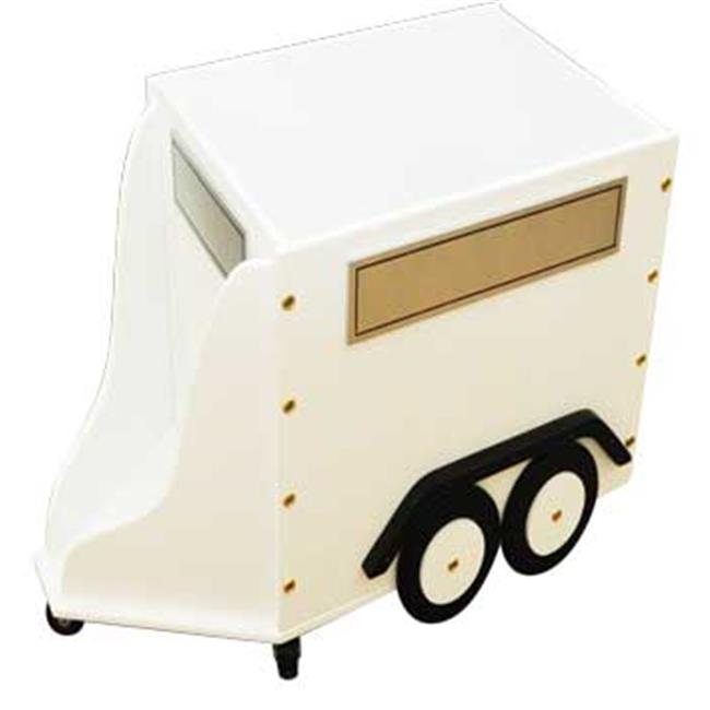 Just Kids Stuff Horse Trailer Toy Box