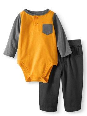 00e842907d2b Gray Baby Outfit Sets - Walmart.com