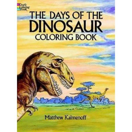 Days of the Dinosaur Coloring Book - Walmart.com