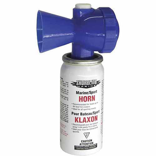 Shoreline Marine Air Horn, 1.4 oz