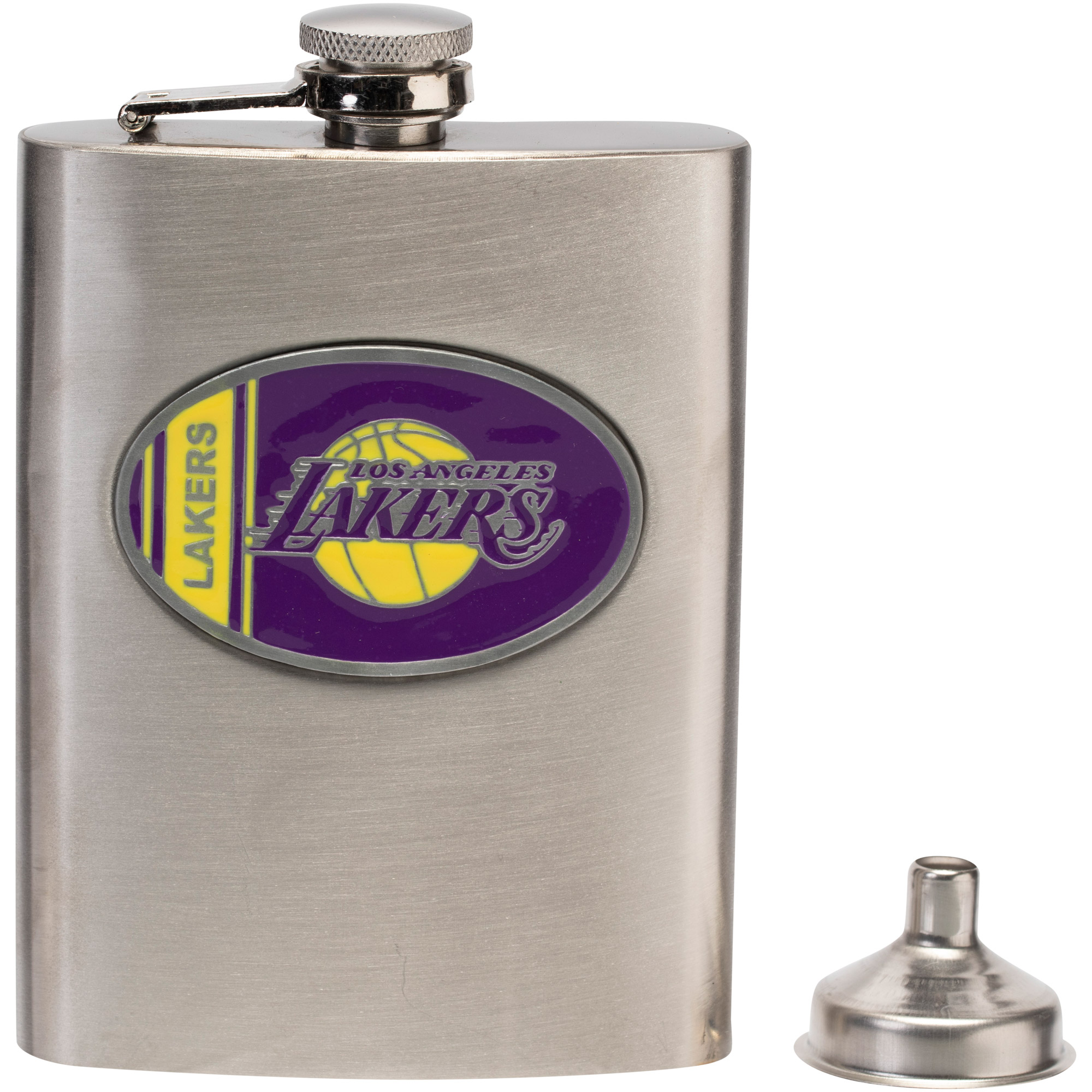 Los Angeles Lakers Stainless Steel Flask - No Size