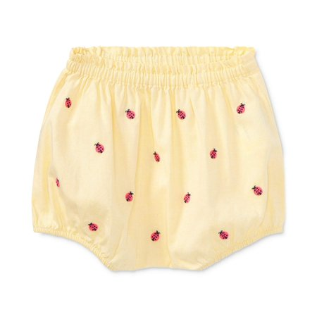 Ralph Lauren Oxford Cotton Bloomer, Baby Girls 18 Months Yellow