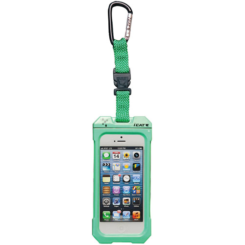 DRI CAT 11062P-C107 iPhone(R) 5 Dri Cat Hang iT Waterproof Case with Carabiner (Lime)