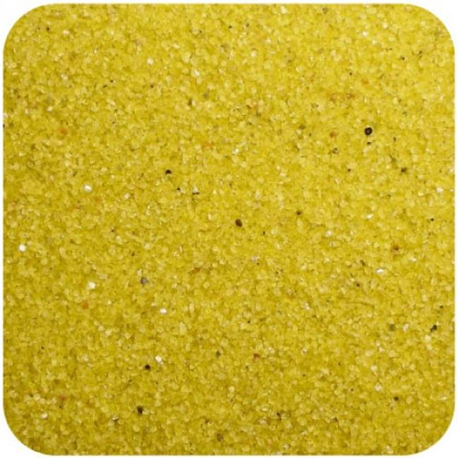Floral Colored Sand 2 lbs. Bag - Yellow