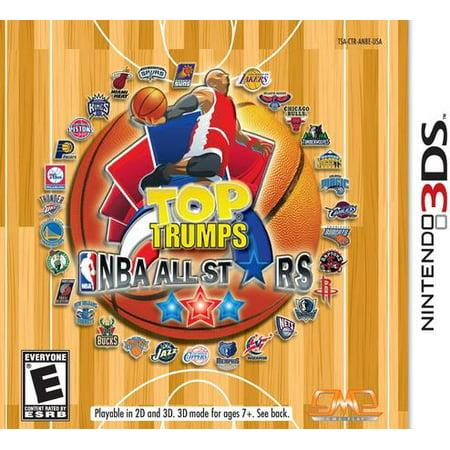 (Nintendo 3DS) Top Trumps NBA All Stars - Nba All Star Basketball Game