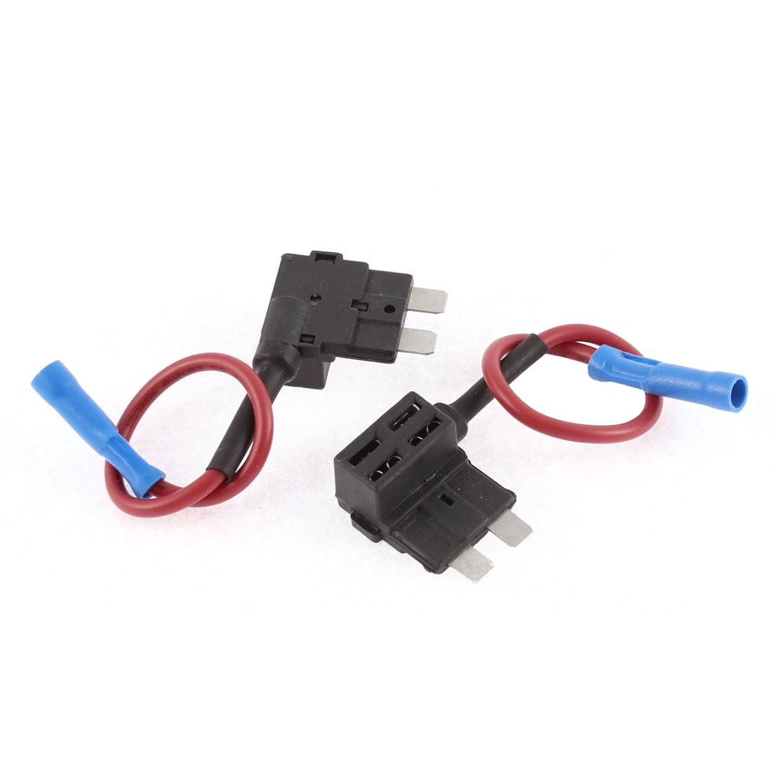 auto car add a circuit tap adapter micro fuse holder 32v 2 pcs rh walmart com