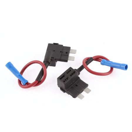 Auto Car Add-A-Circuit TAP Adapter Micro Fuse Holder 32V 2 Pcs Add Fuse Box To Car on