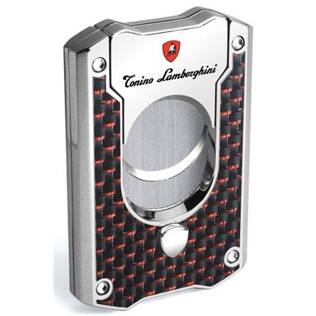 Tonino Lamborghini Les Mans cigar Cutter - Red Carbon Fiber (Tonino Lamborghini Cutter)