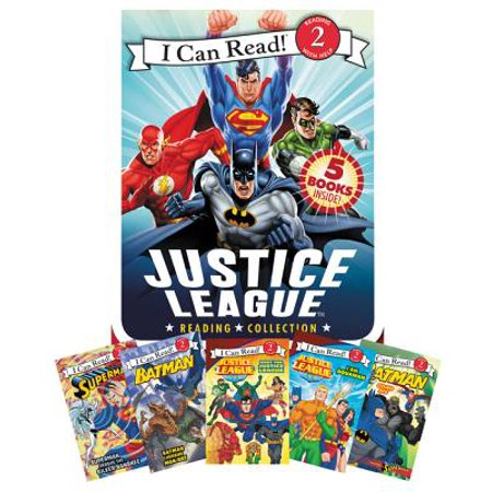 (Justice League Reading Collection : 5 I Can Read Books Inside!)