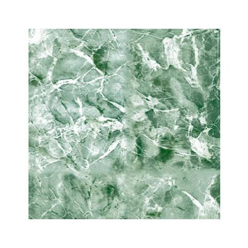 KITTRICH CORP. Shelf Liner, Adhesive, Emerald Green Marble, 18-In. x 9-Ft.