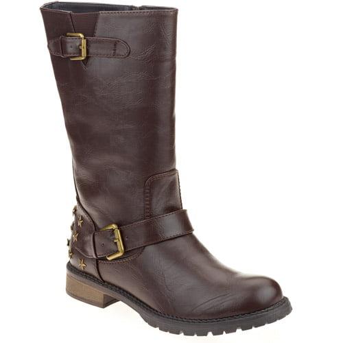 Mo Mo Women S Atlanta Studded Boot Walmart Com