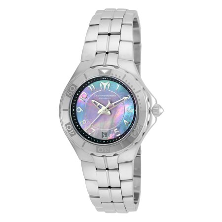 Technomarine Women's TM-715009 Sea Pearl Quartz 3 Hand White Dial Watch