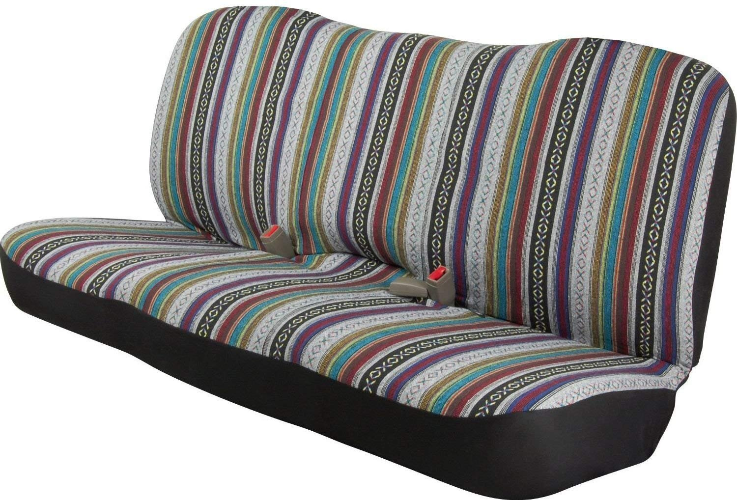 Saddle Blanket Baja Inca Seat Cover Bench Classic For