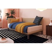 DHP Mid Century Upholstered Modern Daybed, Multiple Sizes, Multiple Colors